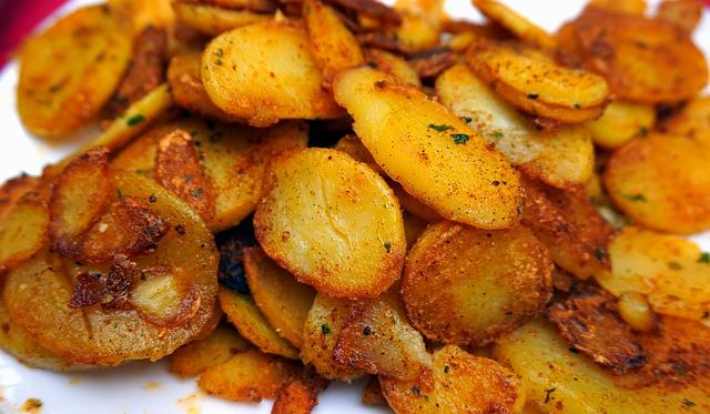 leckere Bratkartoffeln
